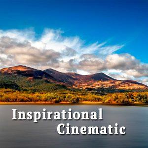 Beautiful mountains and lake, Inspirational Cinematic