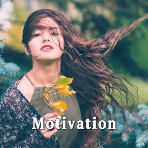 The girl brown-haired, Motivation