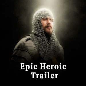 knight, epic heroic trailer