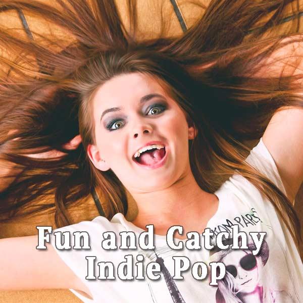 Joyful girl, fun
