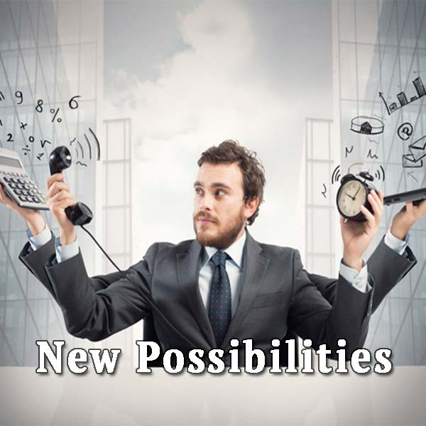 Busy man, new possibilities