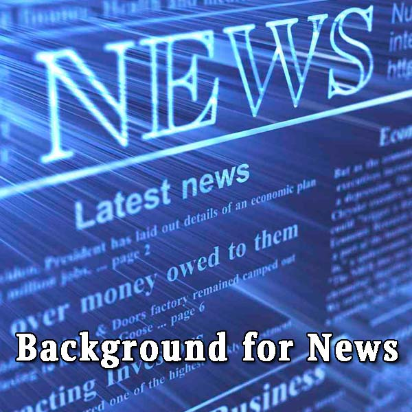 news, background for news
