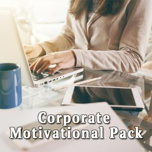 girl at the computer, Corporate Motivational