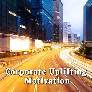 Road at night, Corporate Uplifting Motivation