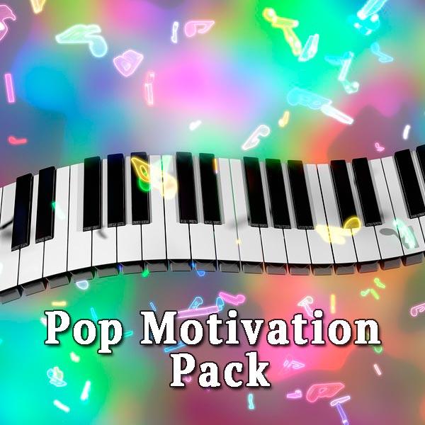 Piano keys, Pop Motivation