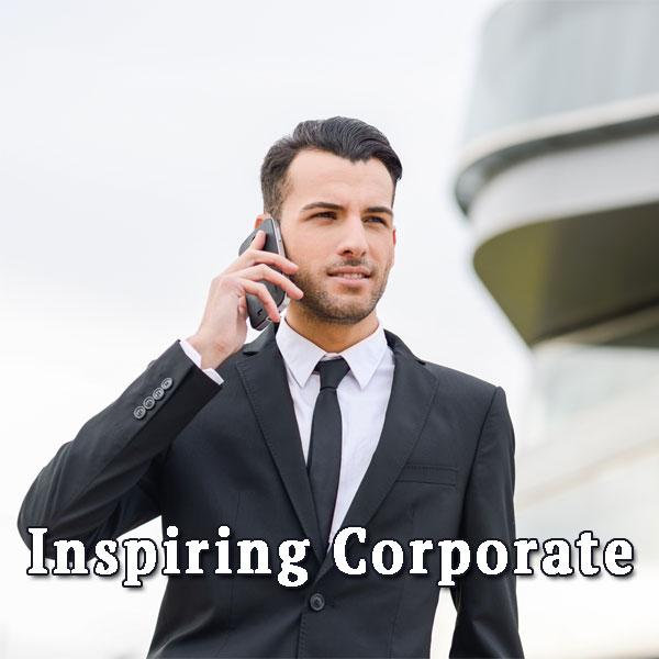 Joung businessman, Inspiring Corporate