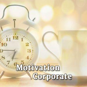 Alarm clock, cup, Motivation Corporate
