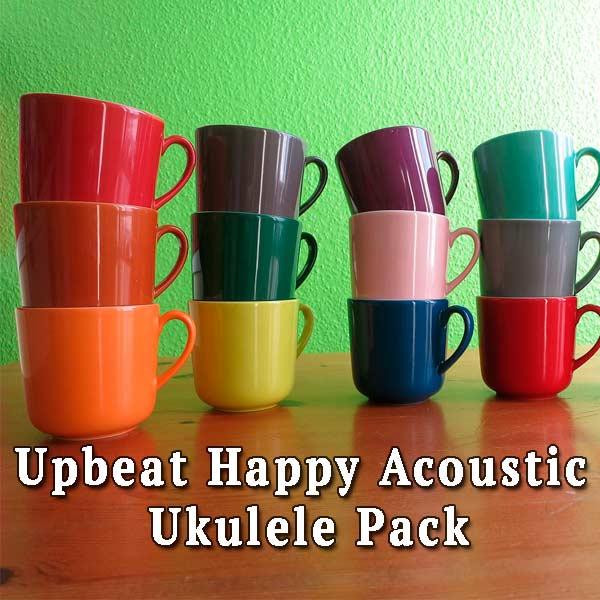 cups, Upbeat Happy Acoustic Ukulele