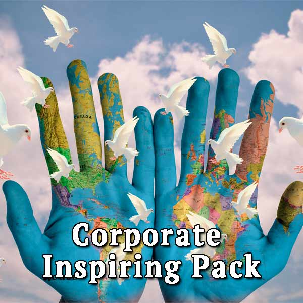 World, pigeons, sky, Corporate Inspiring