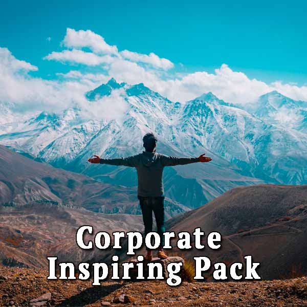 Mountains, people, corporate inspiring