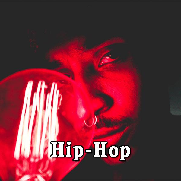 Man, red light, hip-hop